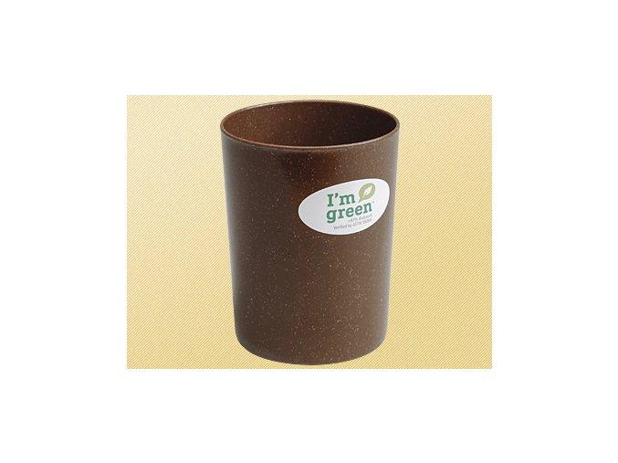 Pohárik na zubnú kefku vyrobený z tekutého dreva