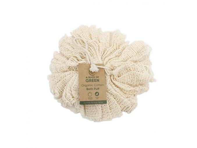 organicka bavlna hubka na telo