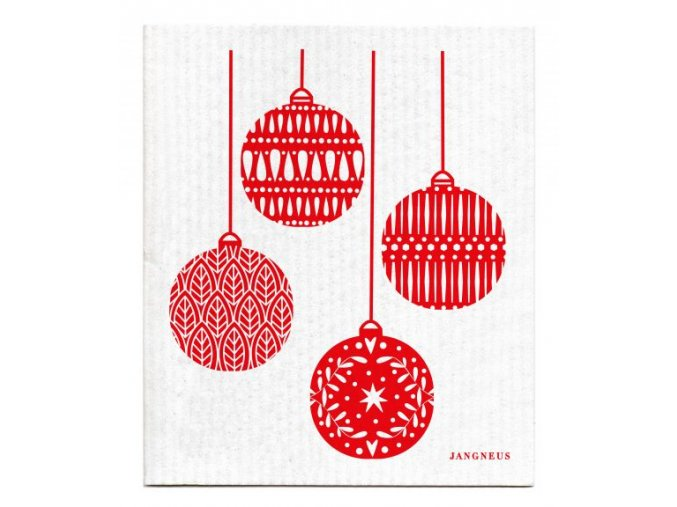 jangneus ekologicka hubka vianoce cervene vianocne gule