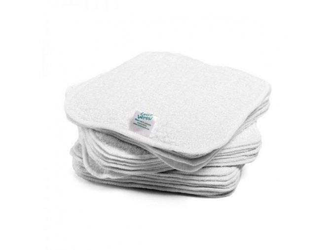 bavlnene frote utierky zero waste biele
