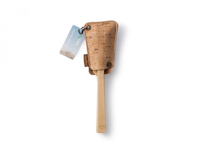 ekonetka bambusovy pribor s korkovym obalom