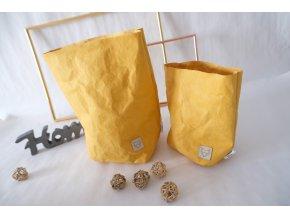 Vrecko z prateľného papiera veľké žlté