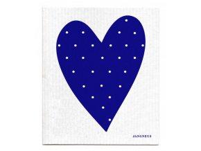 Hubka Jangneus modré srdce ekonetka