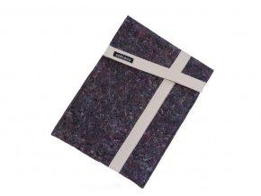 Obal na notebooky z recyklované textáílie biely ekonetka