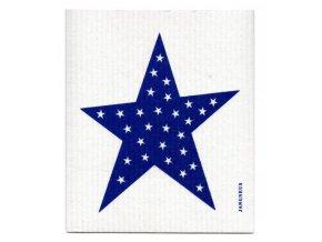 Hubka Jangneus velká modrá hviezda ekonetka