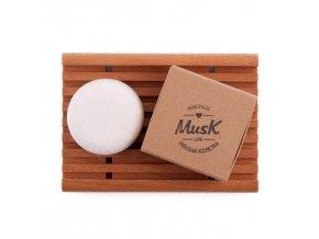 Tuhý šampón na citlivú pokožku Jemný dotyk Musk ekonetka 2