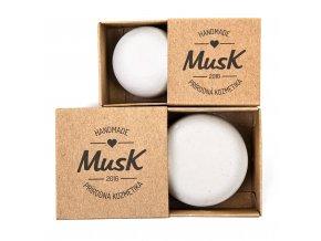 Tuhý šampón na citlivú pokožku Jemný dotyk Musk ekonetka