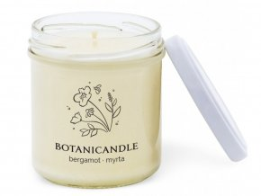 sviecky botanical candle bergamot myrta