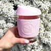 Sklenený pohár na horúce aj ľadové nápoje NEON KACTUS ružový 340ml ekonetka 5