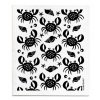 jangneus.com Black Crabs Dishcloth