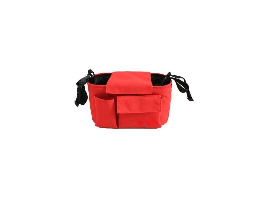 red organizer