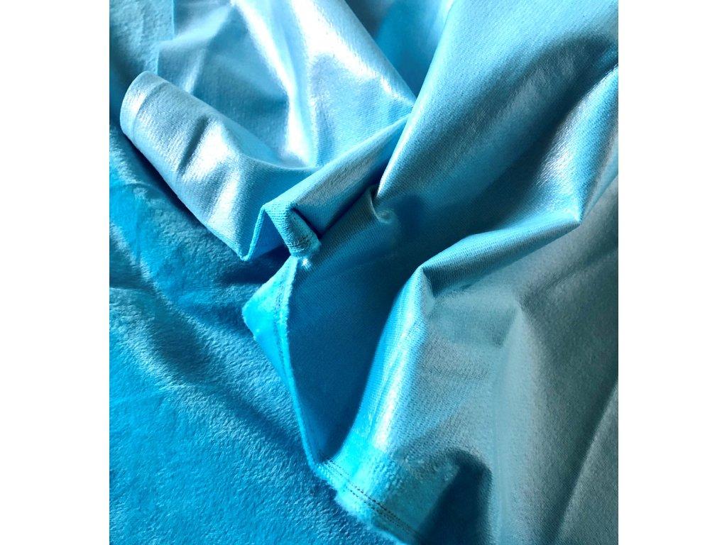 latky modra minky detail