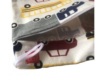 Pytel na pleny nepromokavá taška auta minky 1 zipy