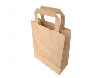 Papírové tašky hnědé 10 ks
