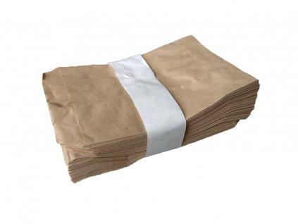 papírové sáčky kupecké ploché ekologické přírodní obalový materiál