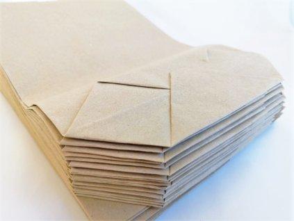 papírový sáček kupecký 1 kg, 2 kg, 3 kg, pytlík, křížové dno, papír