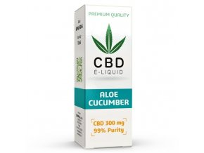 CBD Vape Liquid - 10ml - 300mg - 3% - Aloe Cucumber