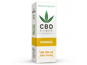CBD Vape Liquid - 10ml - 300mg - 3% - Mango