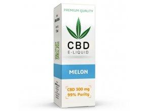 CBD Vape Liquid - 10ml - 300mg - 3% - Meloun