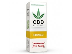 CBD Vape Liquid - 10ml - 600mg - 6% - Mango