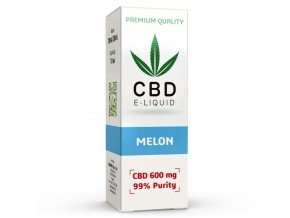 CBD Vape Liquid - 10ml - 600mg - 6% - Melon