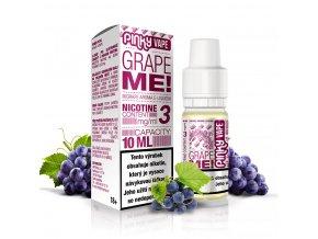 Pinky Vape - E-liquid - 10ml - 12mg - Grape Me! (Hroznové víno)