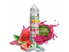 Verdict Vapors - MEGA - Shake & Vape - Watermelon Rush Ice (Ledový meloun se sladkými jahodami) - 18ml