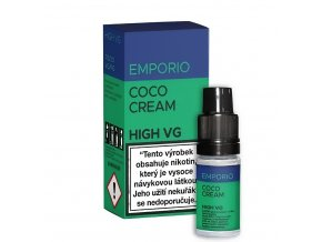 Liquid Emporio HIGH VG - Coco Cream - 10ml - 6mg