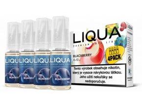 Liquid LIQUA CZ Elements 4Pack Blackberry 4x10ml 3mg (ostružina)