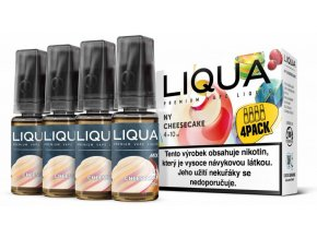 Liquid LIQUA CZ MIX 4Pack NY Cheesecake 10ml-6mg