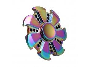 fidget-spinner-rainbow-circular-kov-zlaty