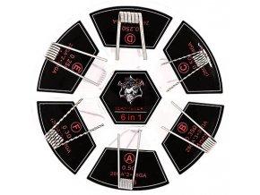Demon Killer Sada předmotaných spirálek 6v1 24ks - SS316