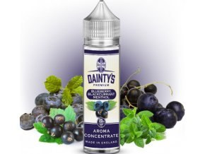 Příchuť Dainty´s Premium Blueberry Blackcurrant Menthol 20ml