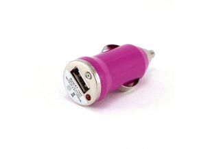 autonabijecka pro elektronicke cigarety 12v mini fialova
