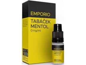 emporio tobacco menthol 10ml 0mg