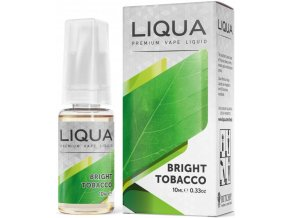 liquid liqua cz elements bright tobacco 10ml0mg cista tabakova prichut