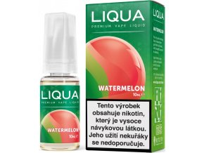 liqua cz elements watermelon 10ml vodni meloun