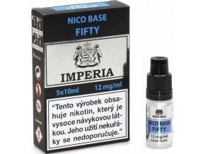 nikotinova baze cz imperia 5x10ml pg50vg50 12mg