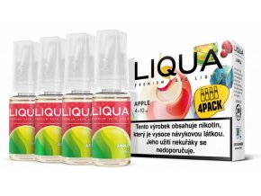 liqua cz elements 4pack apple 4x10ml jablko
