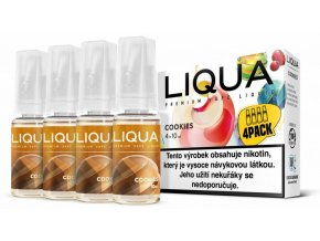 liqua cz elements 4pack cookies 4x10ml susenka