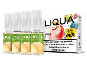 liqua cz elements 4pack melon 4x10ml zluty meloun