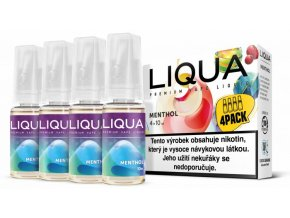 liqua cz elements 4pack menthol 4x10ml mentol