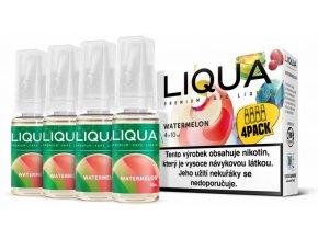 liqua cz elements 4pack watermellon 4x10ml vodni meloun