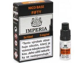 nikotinova baze cz imperia 5x10ml pg50vg50 3mg