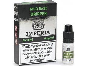 nikotinova baze cz imperia dripper 5x10ml pg30vg70 6mg