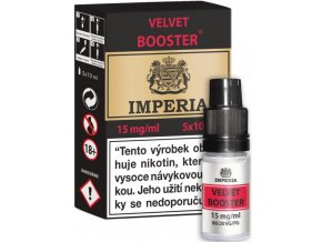 velvet booster cz imperia 5x10ml pg20vg80 15mg