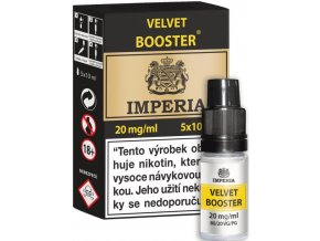 velvet booster cz imperia 5x10ml pg20vg80 20mg