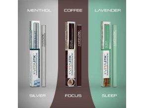 Vitamínová cigareta Vitastik SET MORNING NOON NIGHT TWO 3 kusy (vitamínový vaporizér)