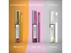 Vitamínová cigareta Vitastik SET GOLDEN BEAUTY THREE 3 kusy (vitamínový vaporizér)