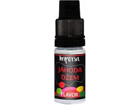 prichut imperia black label 10ml strawberry jam jahodovy dzem